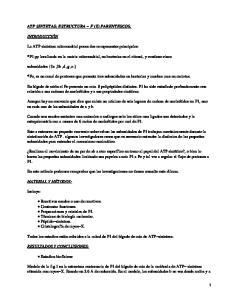 ATP (Adenosín trifosfato) Sintetasa