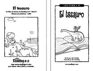 El tesauro. El tesauro.  Visite  para obtener miles de libros y materiales