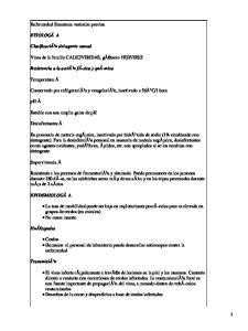 Enfermedad Exantema Vesicular Porcina