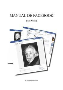 MANUAL DE FACEBOOK. (para abuelas) Por Skiter (www.skitergia.com)