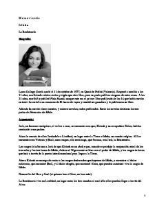 Memorias de idhun; Laura Gallego García
