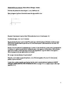 Metode Ruffini per polinomis