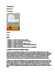 Modos de ver; John Berger