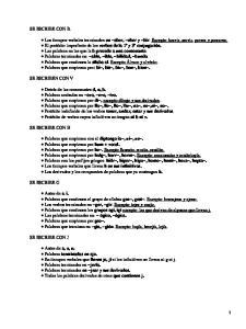Ortografía del castellano