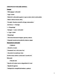 Patología general