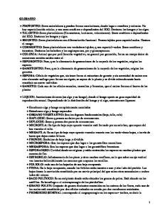 Terminología de Botánica