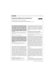 Tratamiento multifactorial de la arteriosclerosis