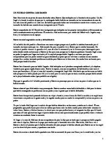 Un pueblo contra los Hamid; Oriol Verges