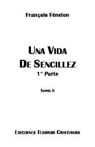 UNA VIDA DE SENCILLEZ